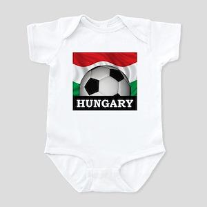 Hungary Football Infant Bodysuit