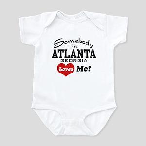 Somebody In Atlanta Loves Me Infant Bodysuit