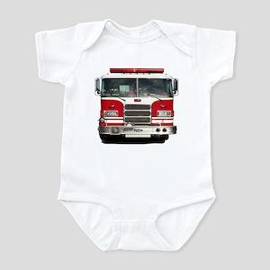 PIERCE FIRE TRUCK Infant Bodysuit