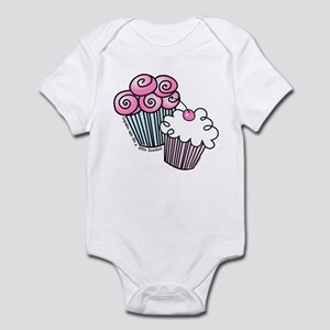 Sweet Cupcakes Infant Bodysuit
