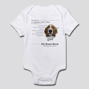 Shakespeare Basset Quote Infant Bodysuit