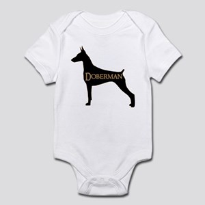 Doberman Infant Bodysuit