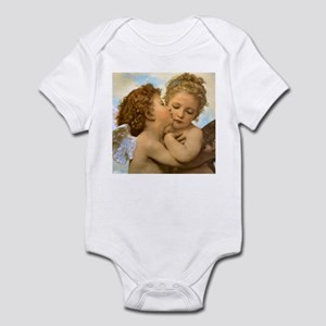 First Kiss by Bouguereau Infant Bodysuit