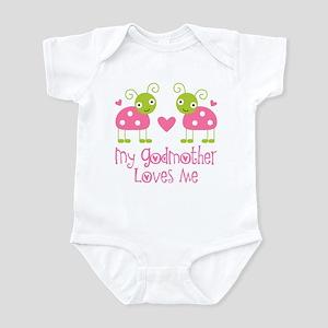 My Godmother Loves Me Infant Bodysuit