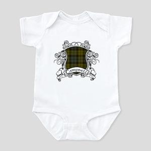 Campbell Tartan Shield Infant Bodysuit