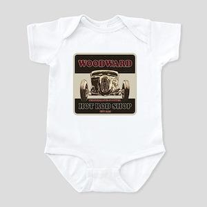 Woodward Hot Rod Shop Infant Bodysuit