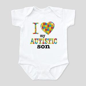 Autistic Son Infant Bodysuit