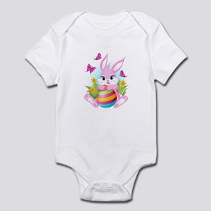 Pink Easter Bunny Infant Bodysuit