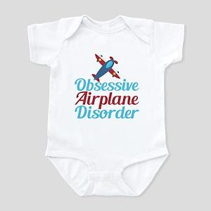 Cool Airplane Baby Light Bodysuit