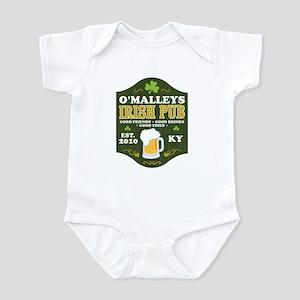 Irish Pub Personalized Infant Bodysuit