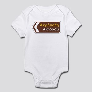 Acropolis, Athens, Greece Infant Bodysuit