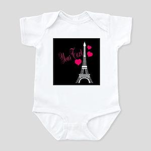 Paris France Eiffel Tower Body Suit