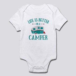 Life's Better Camper Infant Bodysuit