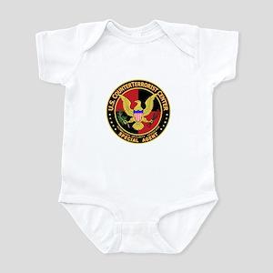 U.S. Counter Terrorist Center Infant Bodysuit