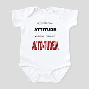 Alto-tude!!! Infant Bodysuit