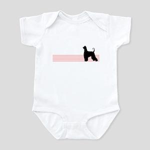 Retro Afghan Hound Infant Bodysuit