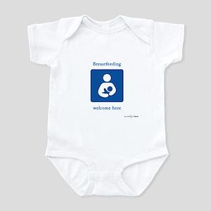 Breastfeeding Welcome Infant Bodysuit