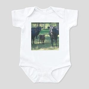 black angus Infant Bodysuit