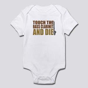 Bass Clarinet:Touch/Die Infant Bodysuit