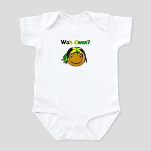 Wah Gwan? Jamaican slang Infant Bodysuit