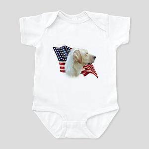Yellow Lab Flag Infant Bodysuit