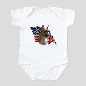 Boxer Flag Infant Bodysuit