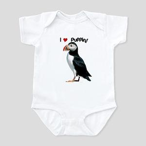 I Luv Puffins Infant Bodysuit