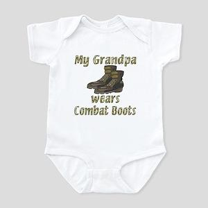 My Grandpa Wears Combat Boots Infant Bodysuit