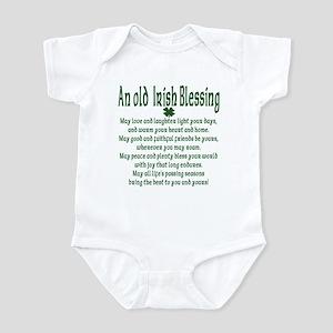 Old irish Blessing Infant Bodysuit