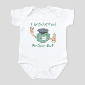 I Graduated, Peace Out Infant Bodysuit