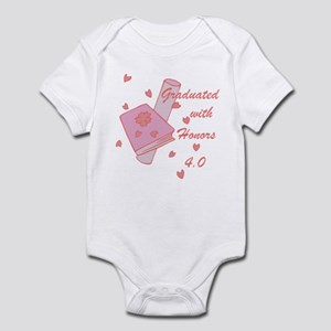 Graduated With Honors 4.0 Infant Bodysuit