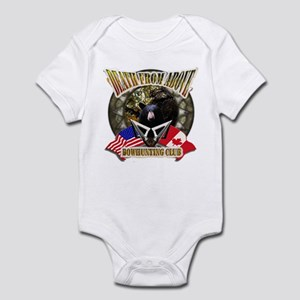 death from above bow hunting Infant Bodysuit