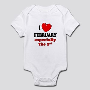 February 1st Infant Bodysuit
