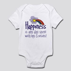 HAPPINESS IS DAY W/ MY COUSINS Infant Bodysuit