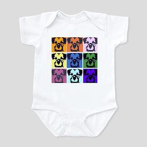 Border Terrier Pop Art Infant Bodysuit