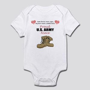 Proud US Army Niece Infant Bodysuit