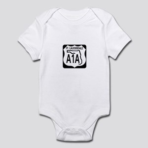 A1A Fort Lauderdale Infant Bodysuit