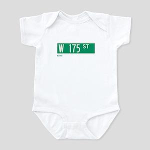175th Street in NY Infant Bodysuit