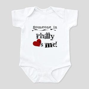 Philly Loves Me Infant Bodysuit