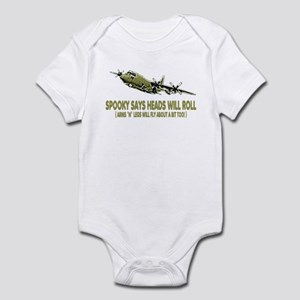 C-130 Spooky Gunship Infant Bodysuit