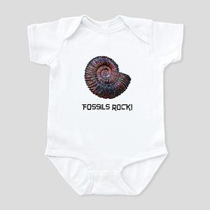 Fossils Rock! Infant Bodysuit
