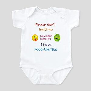 Don't Feed Me Infant Bodysuit