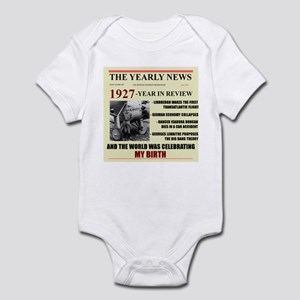 born in 1927 birthday gift Infant Bodysuit