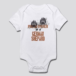German Shepard Infant Bodysuit