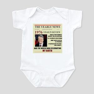 born in 1976 birthday gift Infant Bodysuit