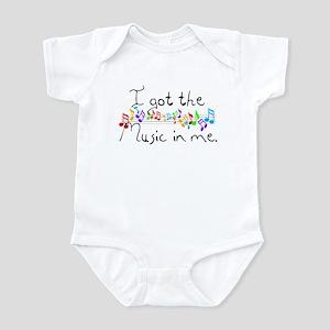 I got the music in me Infant Bodysuit
