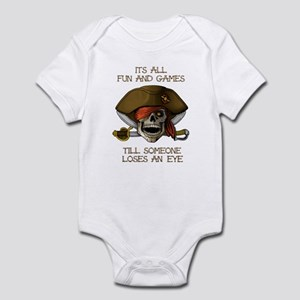 It's all fun and games Infant Bodysuit