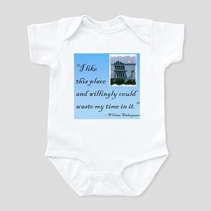 I like this place (2) Infant Bodysuit