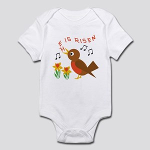 HE IS RISEN ROBIN Infant Bodysuit