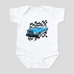 Mustang 1967 Infant Bodysuit
